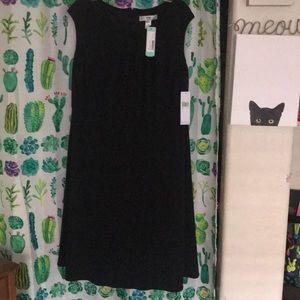 14W Wisp Marissa Black Jersey Dress